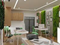Офис в Эко стиле с чертежами 1