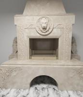 3D модель камина