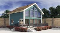 Моделирование каркасного дома