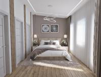 Дизайн спальни с мебелью IKEA