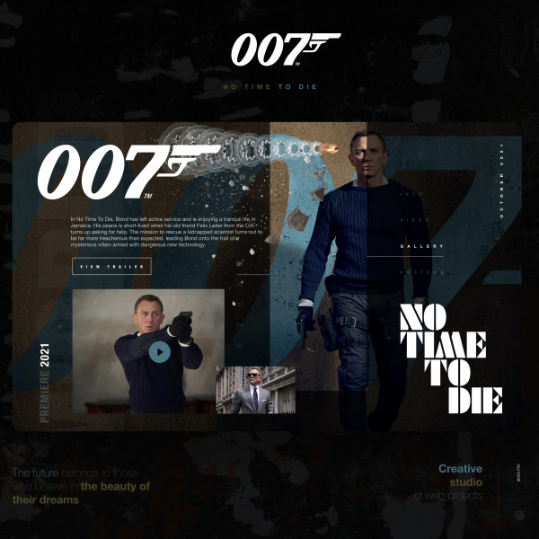 007- NO TIME TO DIE