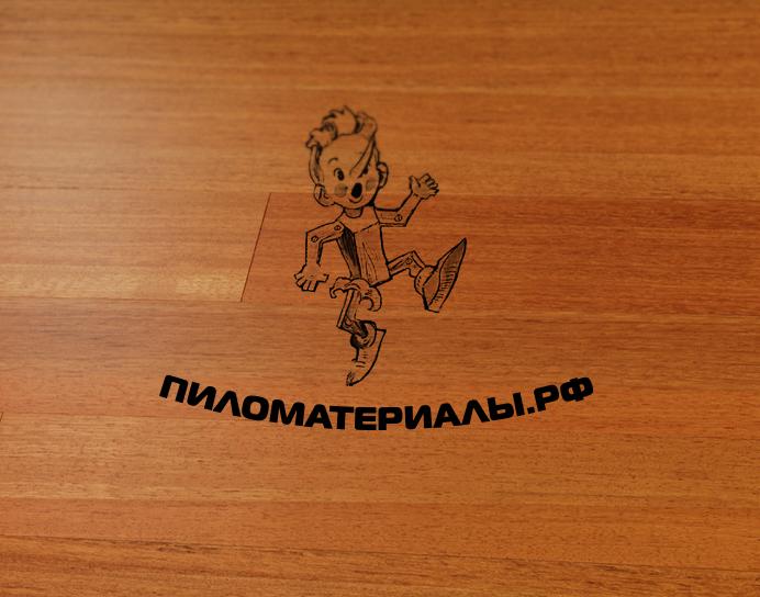 """Создание логотипа и фирменного стиля """"Пиломатериалы.РФ"""" фото f_647530aea8d2644c.jpg"""