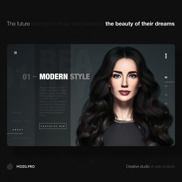 Beauty salon 2021