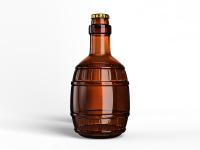 Разработка пивной бутылки