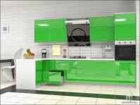 Кухня с МДФ фасадами