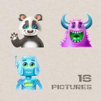 Аватары для детской программы
