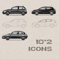 Отрисовка моделей авто  в профиль