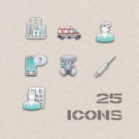 Иконки для клиник.