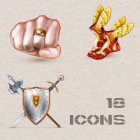 Иконки для меню игры.