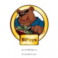 Картинка-лого Медведь.
