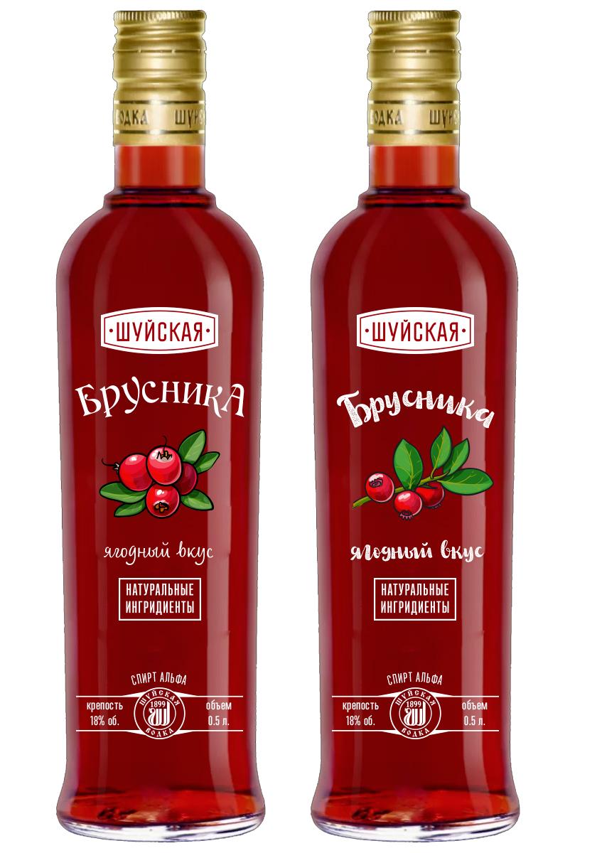 Дизайн этикетки алкогольного продукта (сладкая настойка) фото f_1165f86f00996b3f.jpg