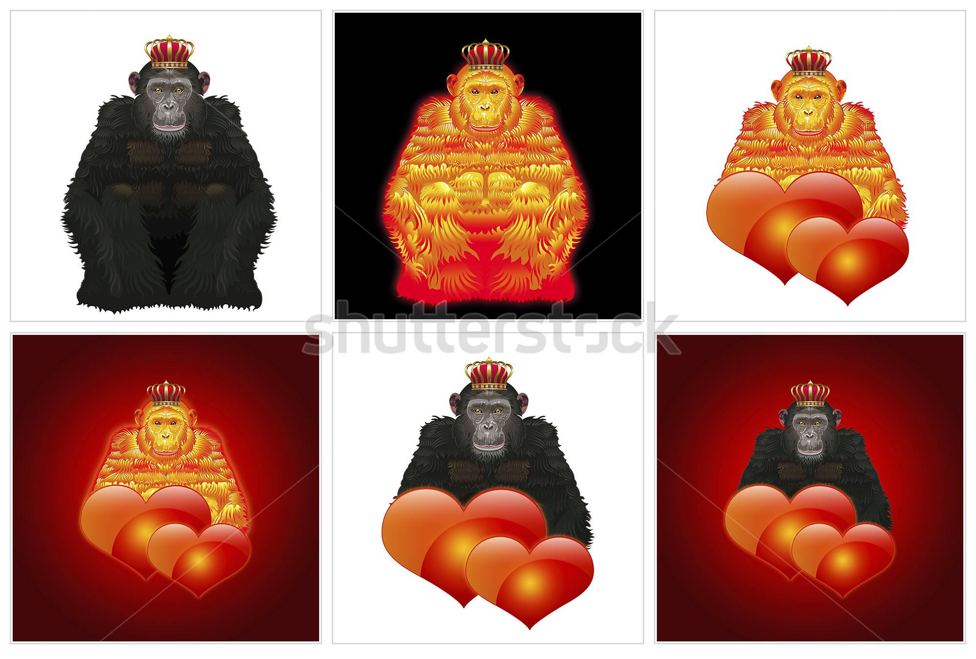 Векторные обезьяны