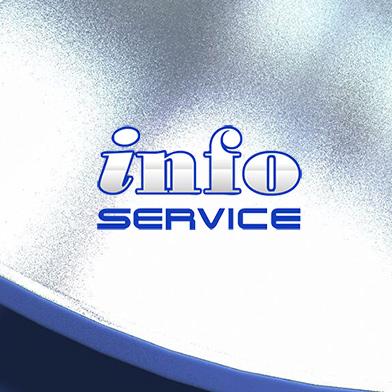 Логотип InfoService
