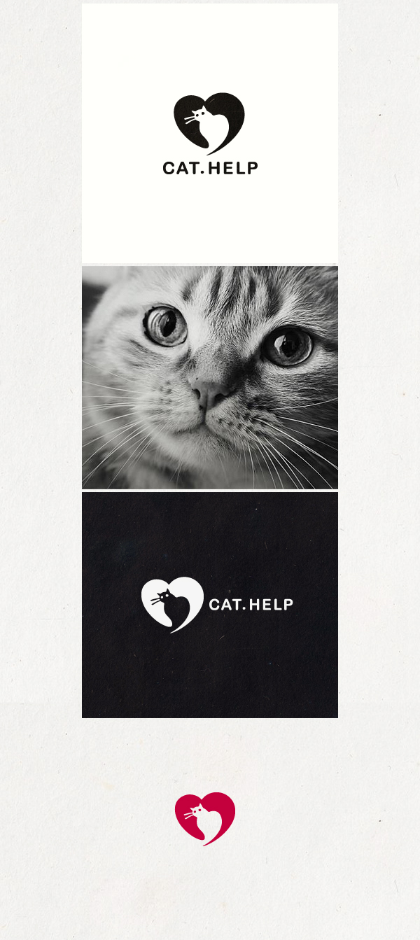 логотип для сайта и группы вк - cat.help фото f_37159da40bf05d52.jpg