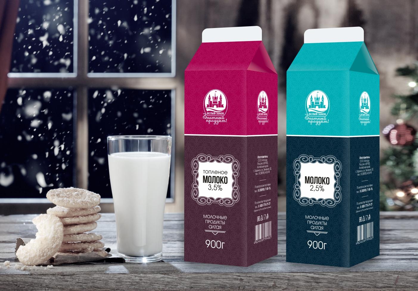 Упаковка тетра пак для молочных продуктов