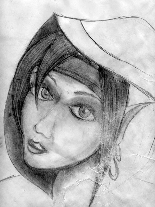 Иллюстрация к книге (карандаш)