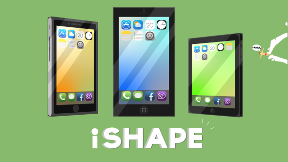 iShape ( no plugins 3D Phones & Pad )