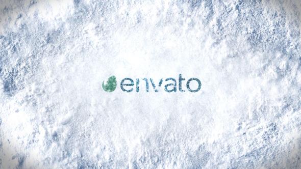 Winter Snow Logo Reveal