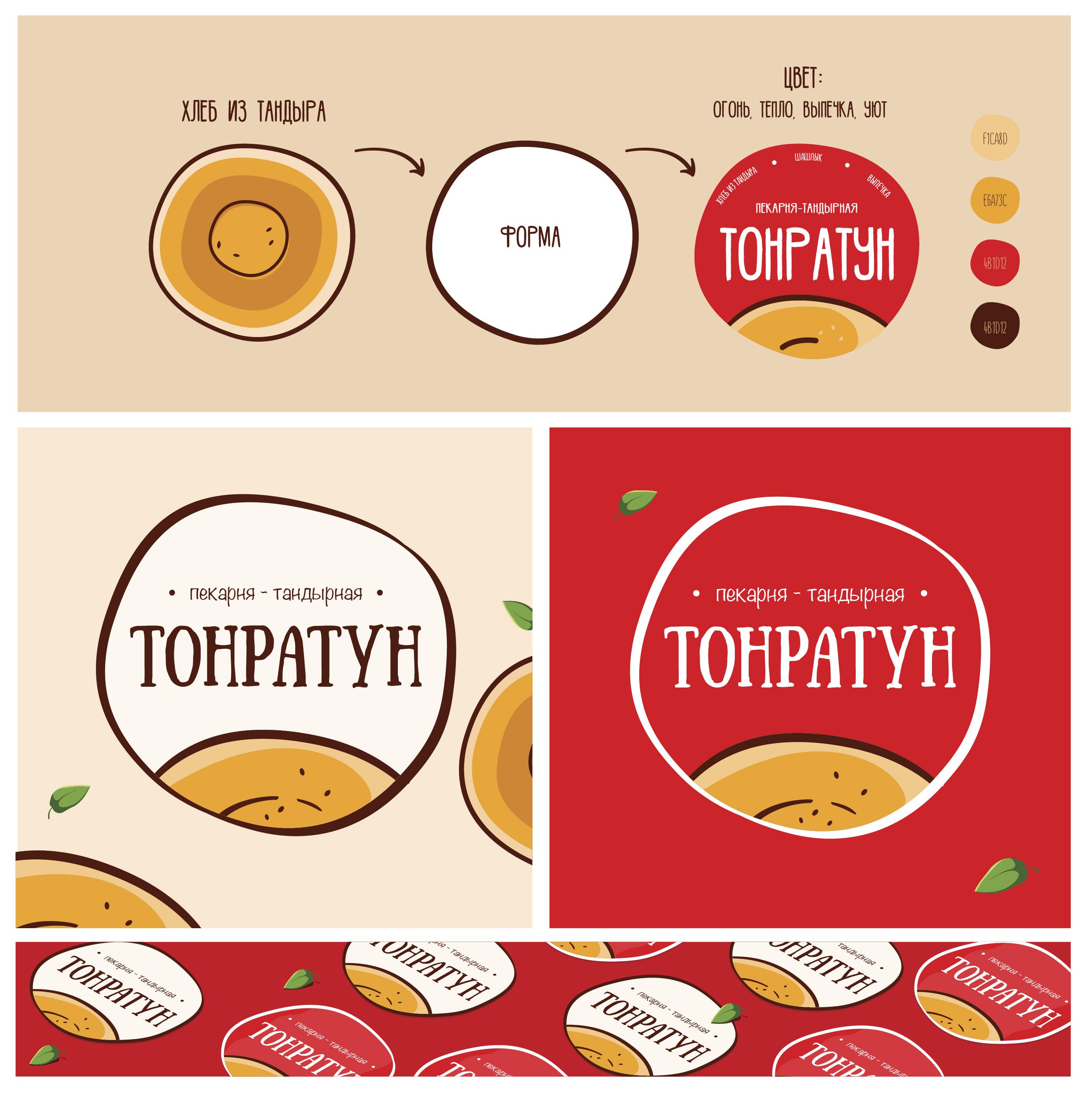 Логотип для Пекарни-Тандырной  фото f_4855d901e8fb6fc2.jpg