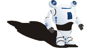 Векторный робот для сайта