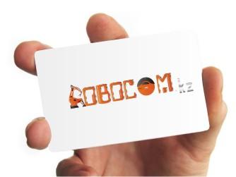 Логотип ROBOCOM.Kz