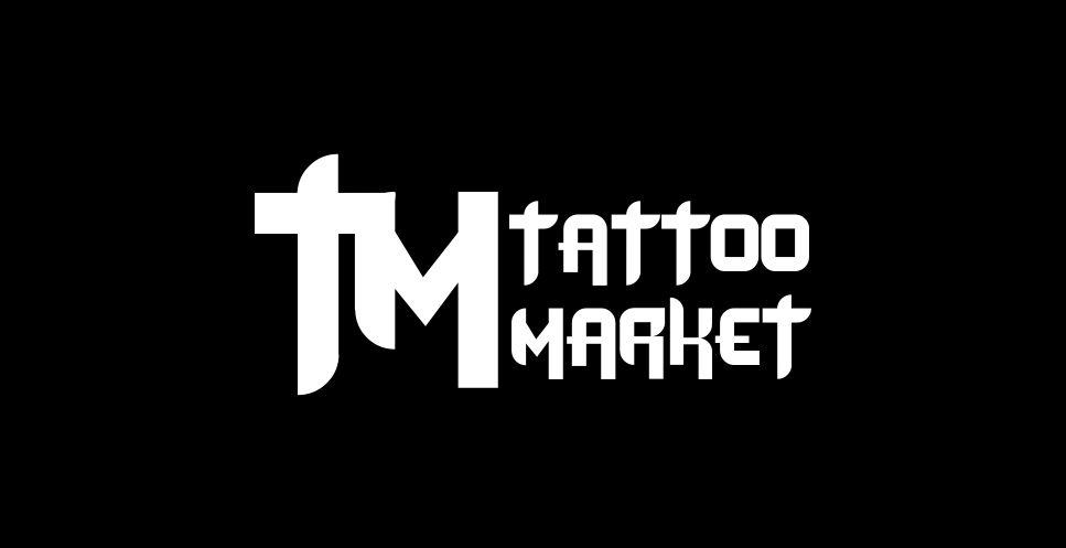 Редизайн логотипа магазина тату оборудования TattooMarket.ru фото f_4195c4c9a33c89e5.jpg