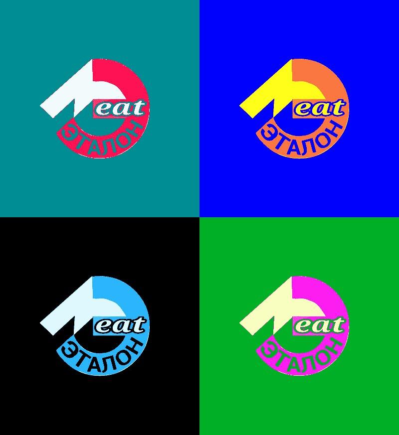 Логотип компании «Meat эталон» фото f_86657040e117fcf3.jpg