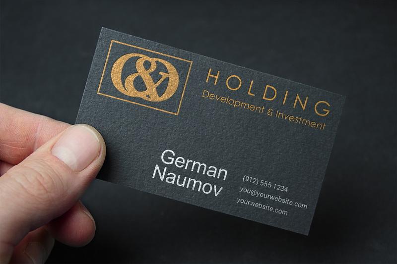 "Разработка Логотипа +  Фирменного знака для компании ""O & O HOLDING"" фото f_8585c7cd44bc1b6c.jpg"