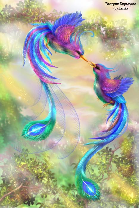 Женя Ева&Карина (03 Декабрь...  А я хочу фото райских птиц))).