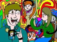 Анимация, прорисовка персонажей, создание индивидуальных аватаров для групп