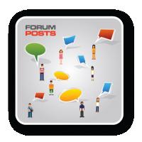 Регистрация аккаунтов на форумах, создание имитации живого общения