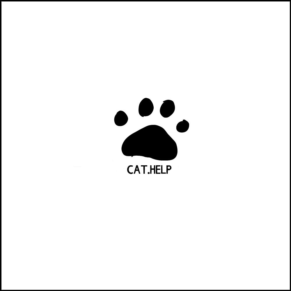 логотип для сайта и группы вк - cat.help фото f_10059db704bc44c3.jpg