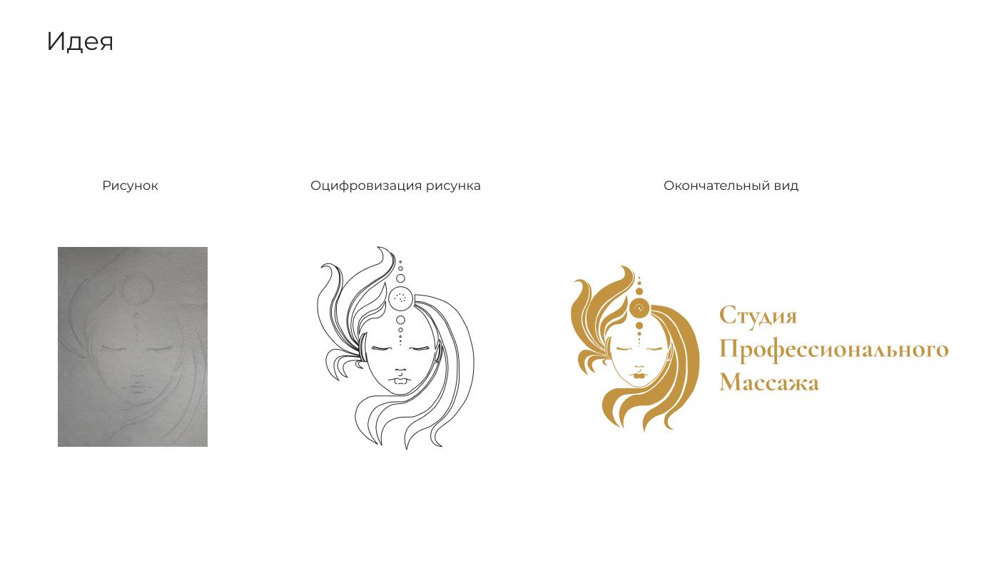 Логотип для салона профессионального массажа