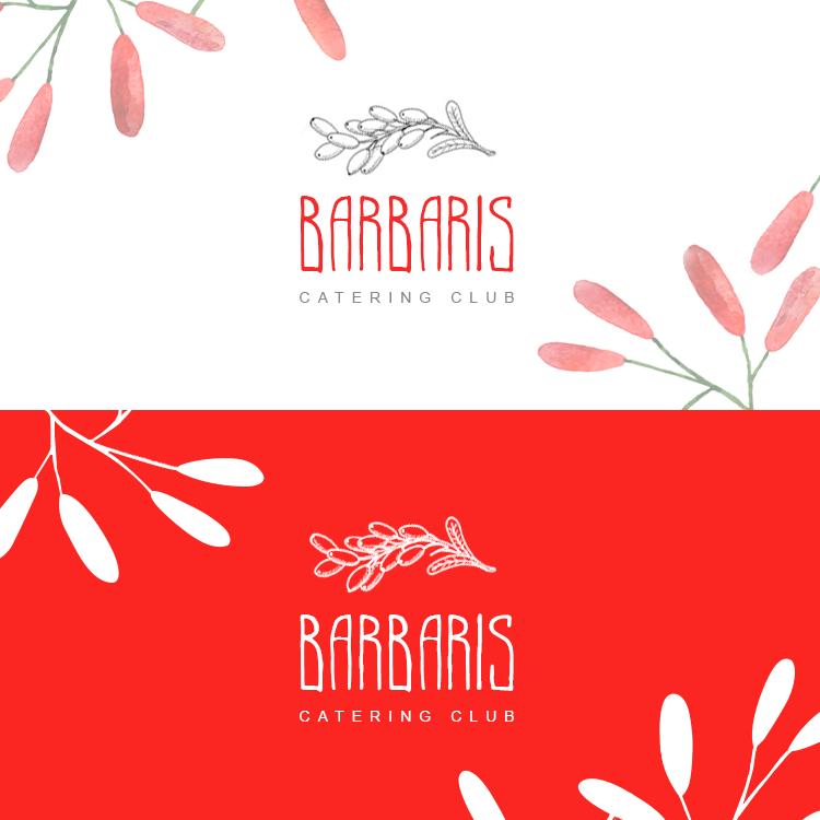 Логотип кейтеринговой компании Barbaris
