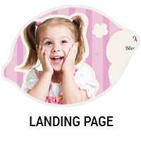 Landing Page для детского магазина KidsKraft