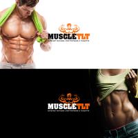 Логотип интернет - магазина спортпитания MuscleTLT