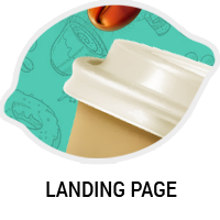 Дизайн сайта LungoCoffee