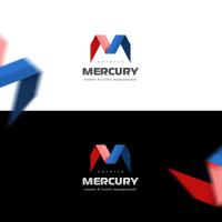 Логотип event и travel агентства Mercury