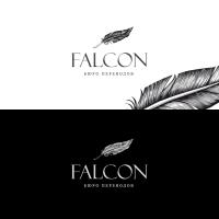 Логотип для бюро переводов Falcon
