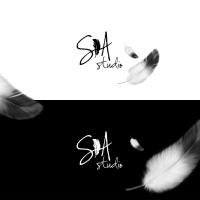 Логотип для студии копирайтинга SA studio