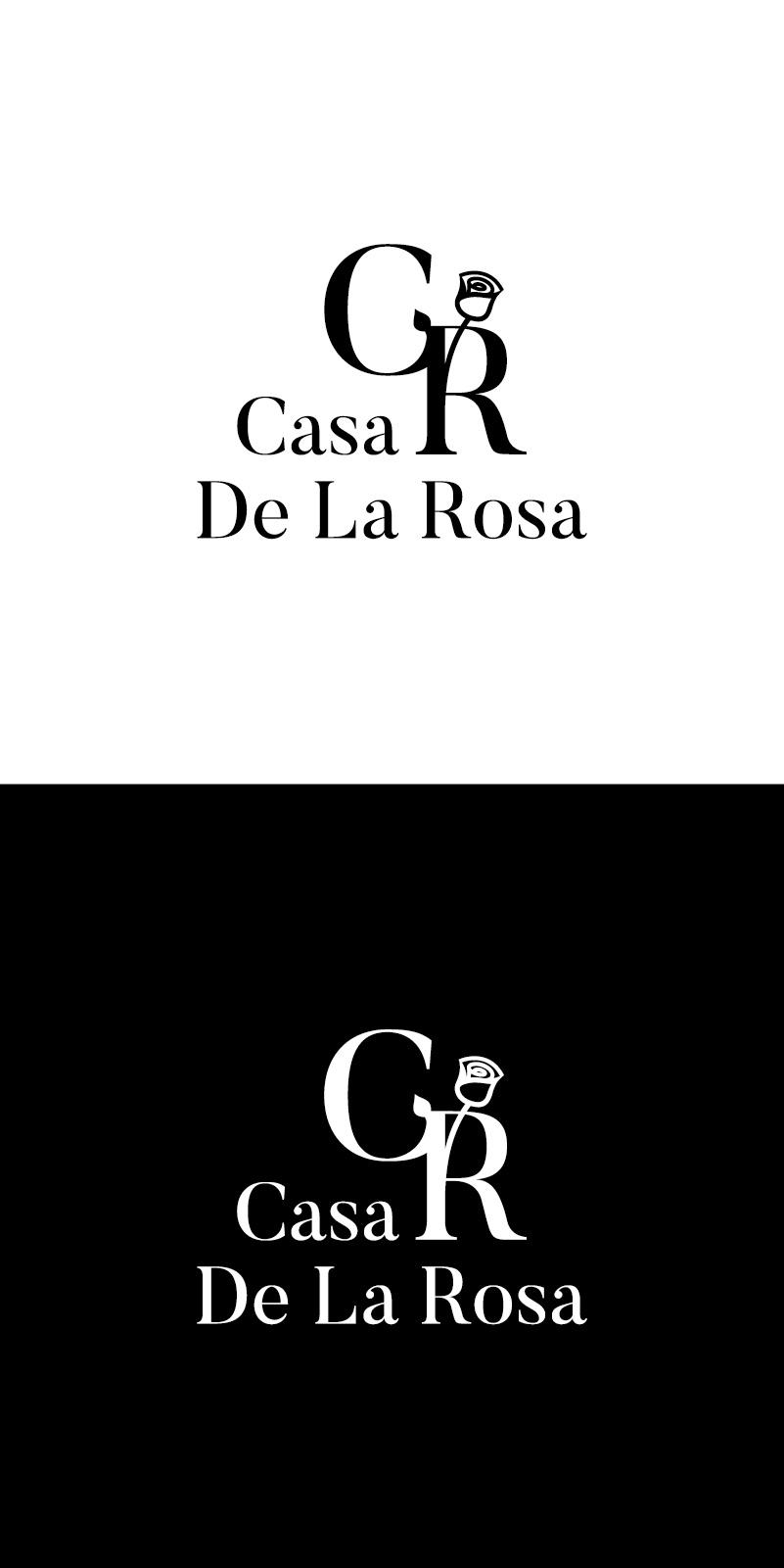 Логотип + Фирменный знак для элитного поселка Casa De La Rosa фото f_2475cd45154d7b63.jpg