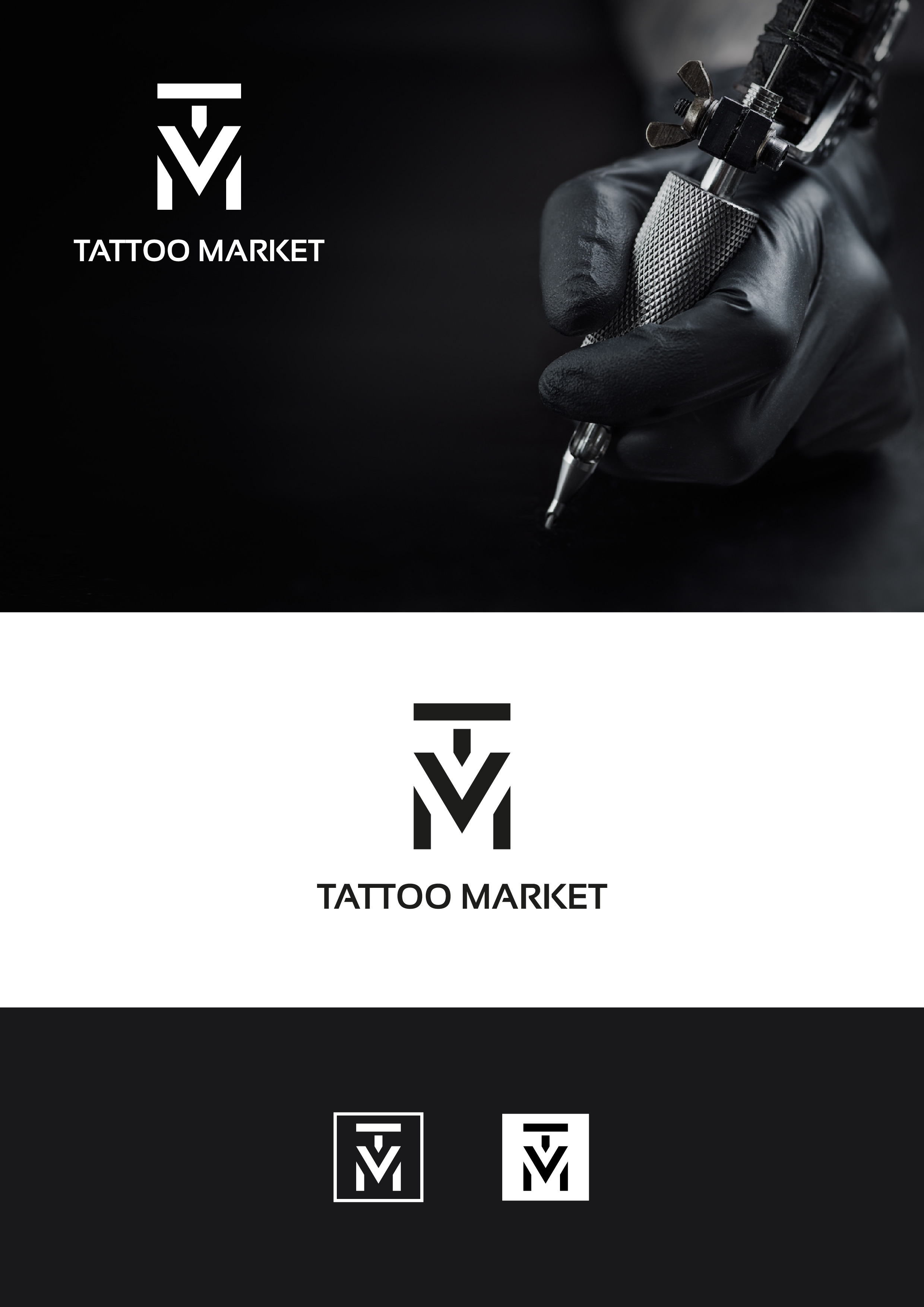 Редизайн логотипа магазина тату оборудования TattooMarket.ru фото f_4125c3df448a253f.jpg
