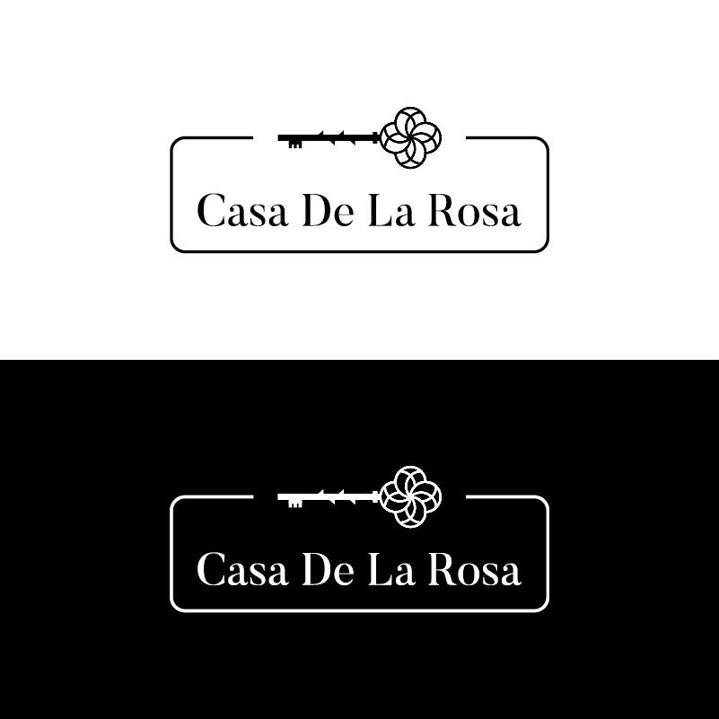 Логотип + Фирменный знак для элитного поселка Casa De La Rosa фото f_9045cd2b1af6aa9b.jpg