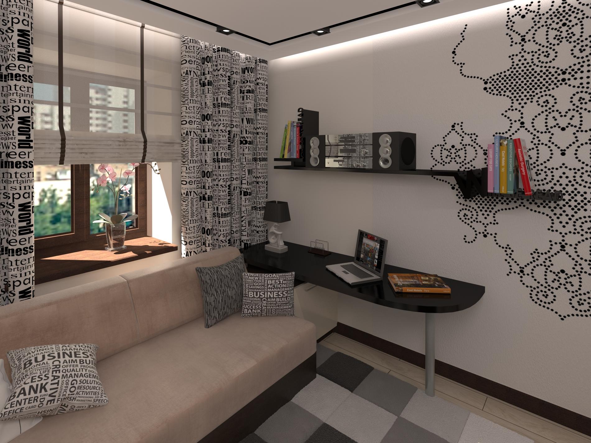 Квартира студия Подрастковая