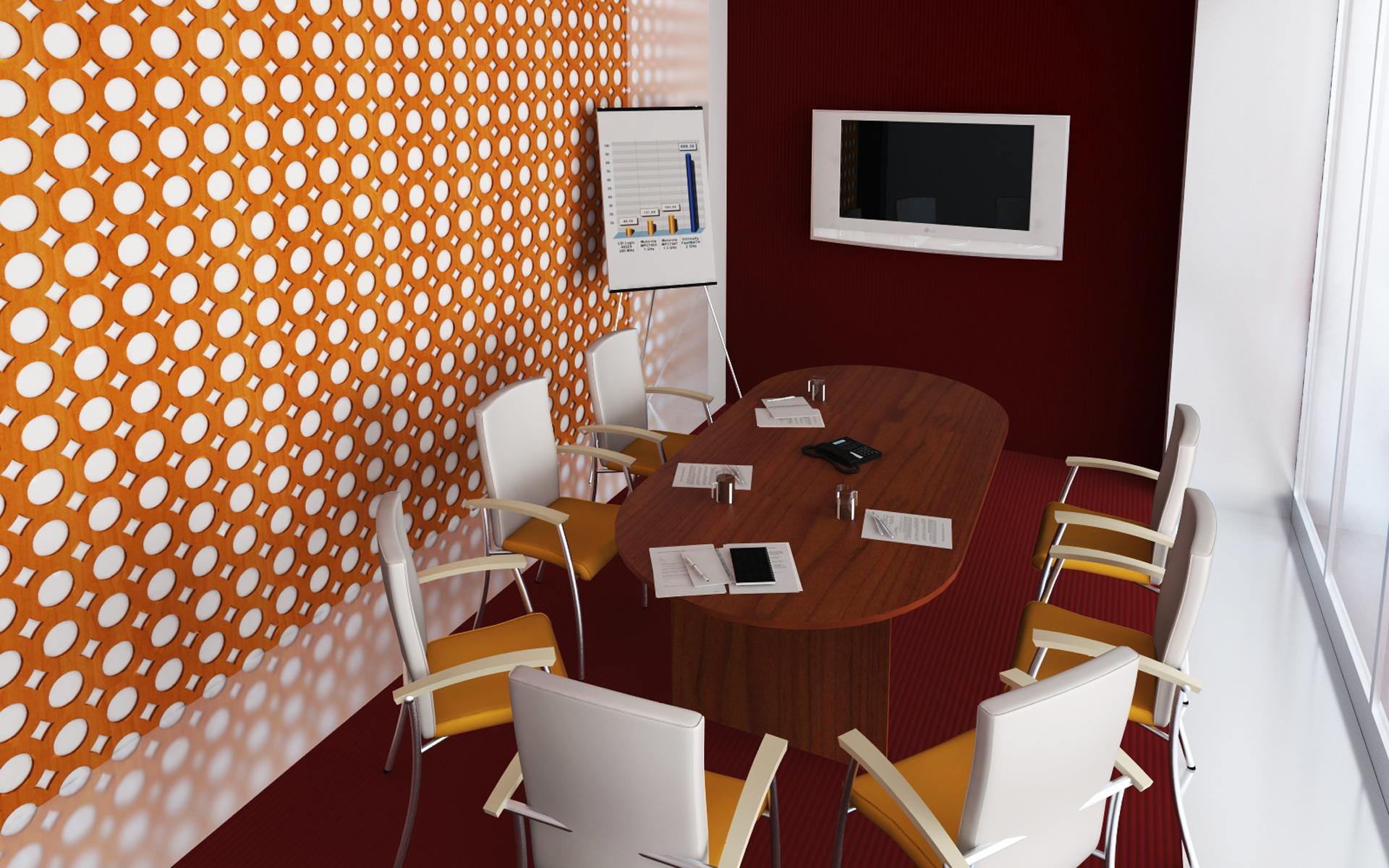 Офис - комнаты для переговоров
