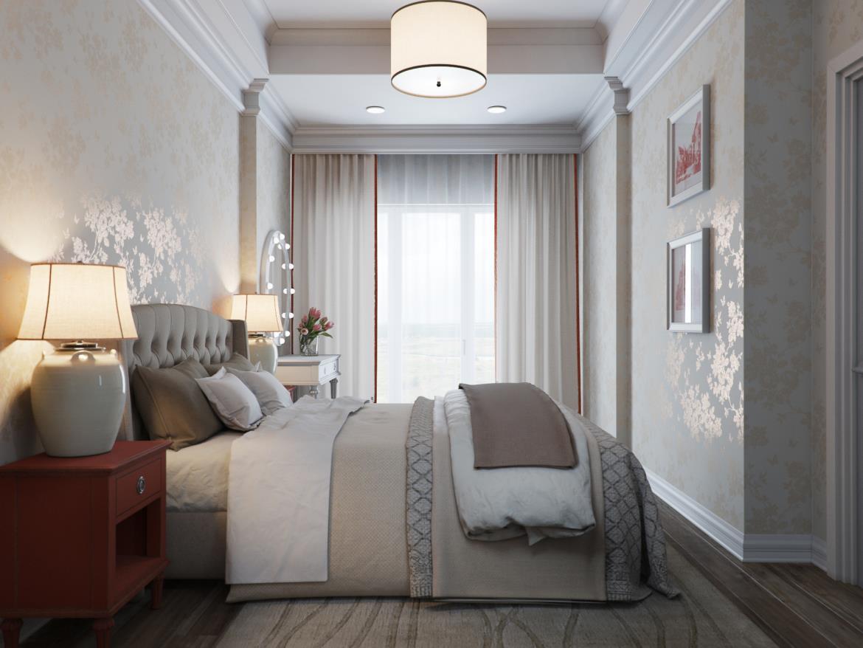 Спальня неопрованс