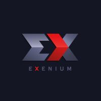 Exenium Лендинг и логотип