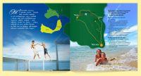 Разворот буклета «Мой остров»