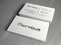 """Визитка """"MicroBus"""""""