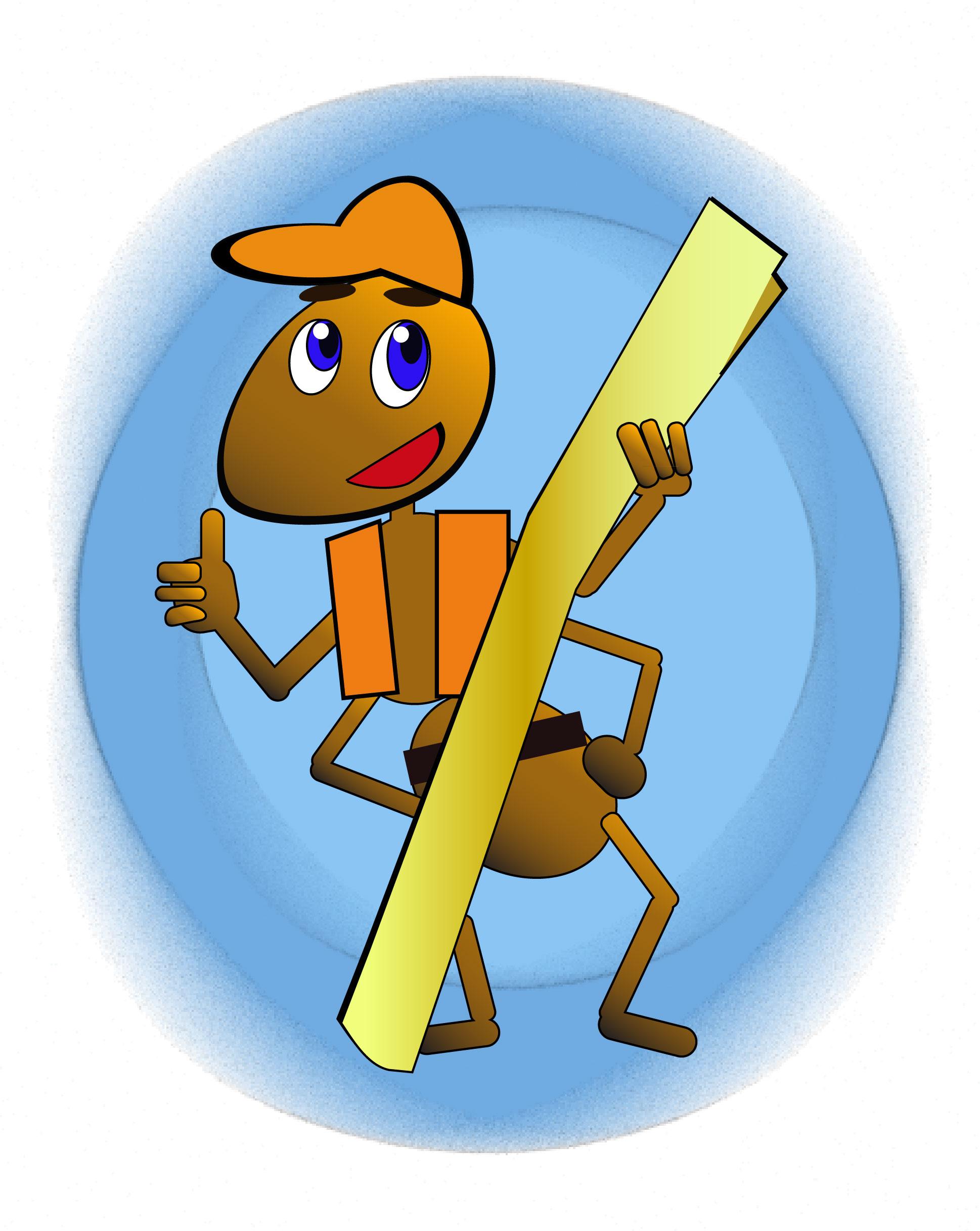 """Необходимо разработать дизайн персонажа """"Муравей"""" для сайта  фото f_869577284698167c.jpg"""